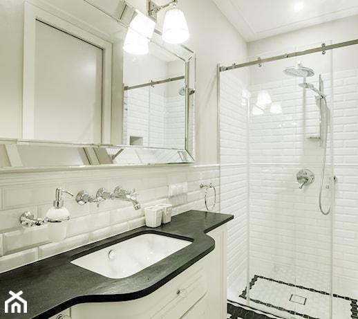 Białe Płytki Cegiełki Do łazienki Pomysły Inspiracje Z Homebook