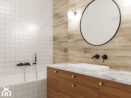 Aranżacje wnętrz - Łazienka: Zielone Bielany - Mała łazienka w bloku w domu jednorodzinnym bez okna, styl skandynawski - EG projekt. Przeglądaj, dodawaj i zapisuj najlepsze zdjęcia, pomysły i inspiracje designerskie. W bazie mamy już prawie milion fotografii!