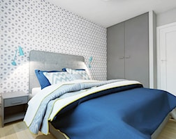 Sypialnia styl Skandynawski - zdjęcie od EG projekt
