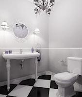 Łazienka styl Glamour - zdjęcie od EG projekt