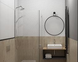 Łazienka styl Industrialny - zdjęcie od EG projekt
