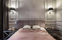 Sypialnia styl Glamour - zdjęcie od EG projekt
