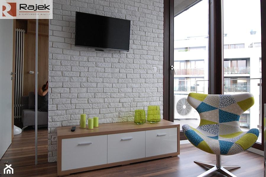 Mieszkanie w Warszawie Styl Nowoczesny - Sypialnia, styl nowoczesny - zdjęcie od Rajek Projektowanie Wnętrz