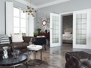 ASILO - Salon, styl glamour - zdjęcie od Entra