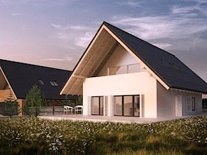 Dom Optymalny - arch. Robert Konieczny KWK Promes - Architekt budynków
