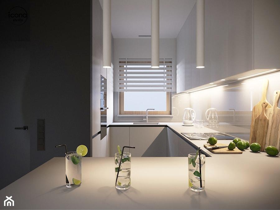 Segment w Józefosławiu 2 - Kuchnia, styl nowoczesny - zdjęcie od Icona Studio