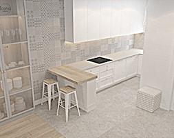 Segment w Józefosławiu 1 - Kuchnia, styl nowoczesny - zdjęcie od Icona Studio - Homebook