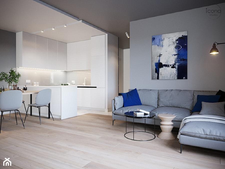 Mieszkanie w Piasecznie 6 - Kuchnia, styl minimalistyczny - zdjęcie od Icona Studio