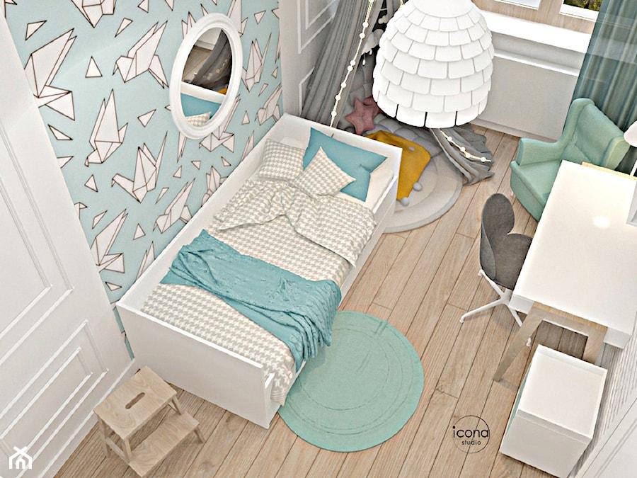 Segment w Józefosławiu 1 - Pokój dziecka, styl nowoczesny - zdjęcie od Icona Studio