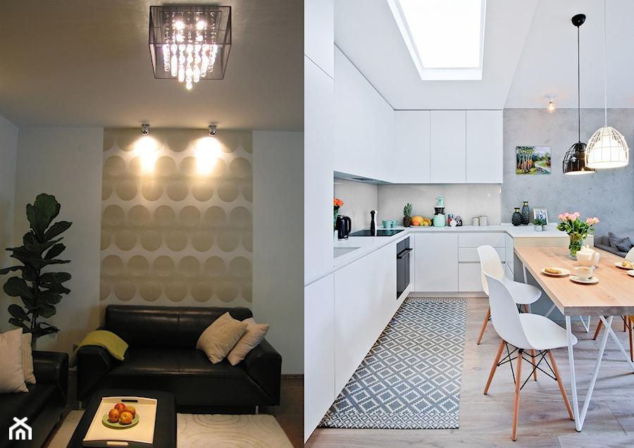 Metamorfoza mieszkania w Piasecznie - Kuchnia, styl eklektyczny - zdjęcie od Icona Studio