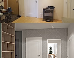 Metamorfoza mieszkania w Piasecznie 4 - Hol / przedpokój, styl nowoczesny - zdjęcie od Icona Studio - Homebook