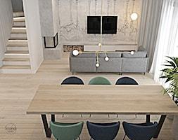 Segment w Józefosławiu 1 - Salon, styl nowoczesny - zdjęcie od Icona Studio - Homebook