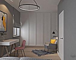 Segment w Józefosławiu 1 - Sypialnia, styl nowoczesny - zdjęcie od Icona Studio - Homebook