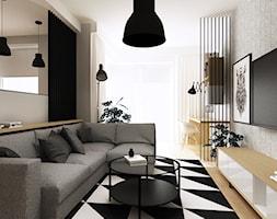 Salon+z+kuchni%C4%85+-+zdj%C4%99cie+od+Femberg+Architektura+Wn%C4%99trz