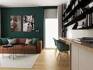 Strefa dzienna - zdjęcie od Femberg Architektura Wnętrz