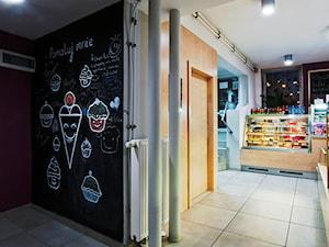 Projekt wnętrza piekarni-cukierni - zdjęcie od easy project