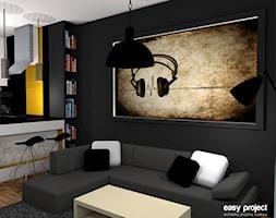 Mieszkanie w stylu muzycznym - zdjęcie od easy project