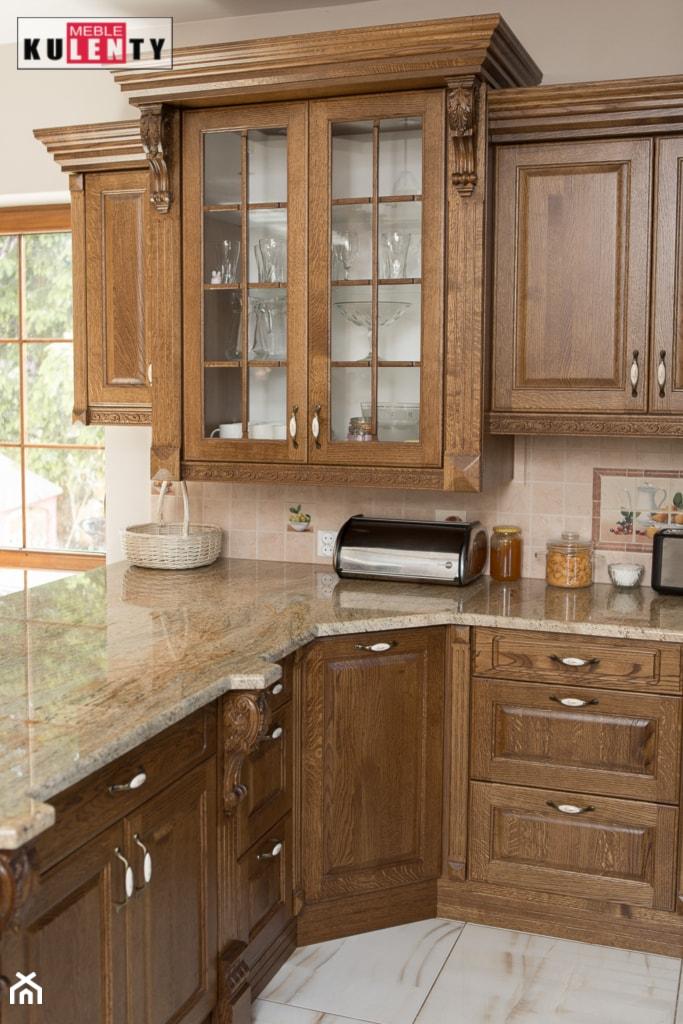 klasyczne meble kuchenne na wymiar zdjęcie od meble na