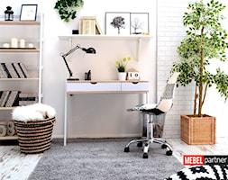 Biurko LUND wraz z krzesłem MPC MOVE TAP - zdjęcie od Mebel-Partner