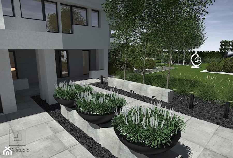 Donice przed domem - zdjęcie od MIA studio