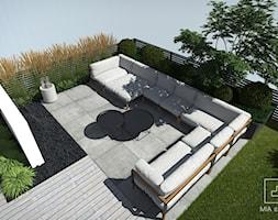 Zestaw wypoczynkowy na tarasie - zdjęcie od MIA studio - Homebook