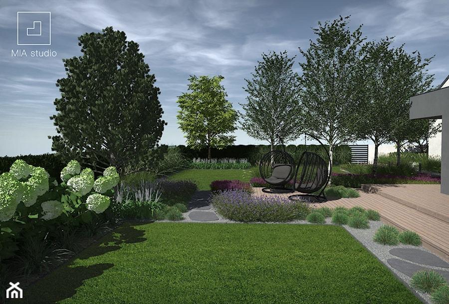 Ogród w stylu skandynawskim - zdjęcie od MIA studio
