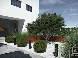 Mały ogród geometryczny
