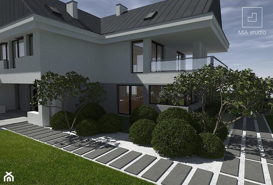 projekt ogrodu minimalistycznego - zdjęcie od MIA studio