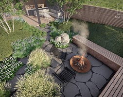 Ogród Lawa - Ogród, styl nowoczesny - zdjęcie od MIA studio - Homebook