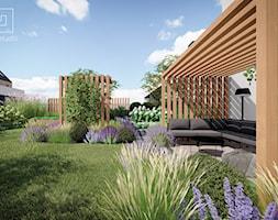 Nowoczesny ogród angielski - zdjęcie od MIA studio - Homebook