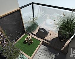 Balkon dla dziecka z tablicą do rysowania - zdjęcie od MIA studio