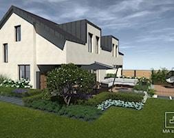 Ogród przy bliźniaku - zdjęcie od MIA studio