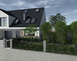 Ogród śródziemnomorski - Mały ogród przed domem, styl prowansalski - zdjęcie od MIA studio