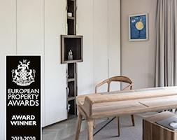 APARTAMENT PRZY PARKU - Biuro, styl nowoczesny - zdjęcie od architekt Roland Stańczyk   RS Studio Projektowe - Homebook