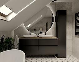 Nowoczesna łazienka ze skosem 2 - zdjęcie od kaflando - Homebook