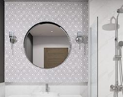 Klasyczna łazienka z motywem geometrycznym - zdjęcie od kaflando