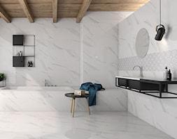łazienka skandynawska z marmurkiem - zdjęcie od kaflando