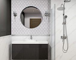 Klasyczna łazienka z natryskiem - zdjęcie od kaflando