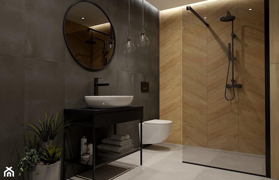 Łazienka z dużą jodełką - zdjęcie od kaflando