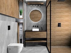 Łazienka - imitacja szarego łupka - zdjęcie od kaflando