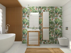 Łazienka w stylu JUNGLE - zdjęcie od kaflando