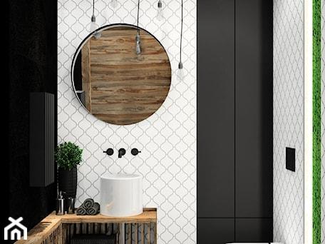 Aranżacje wnętrz - Łazienka: WC z arabeską i łupkiem Black Slate 120x60 - kaflando. Przeglądaj, dodawaj i zapisuj najlepsze zdjęcia, pomysły i inspiracje designerskie. W bazie mamy już prawie milion fotografii!
