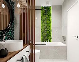 Zielone akcenty ART MARBLE - zdjęcie od kaflando - Homebook
