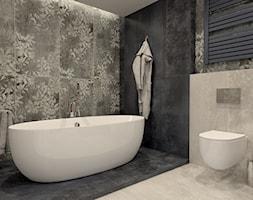 Łazienka z nowoczesnym motywem kwiatowym 2 - zdjęcie od kaflando - Homebook