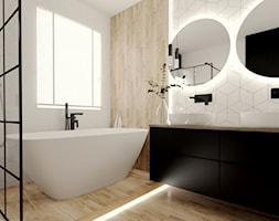 Jasna łazienka z rombami 2 - zdjęcie od kaflando - Homebook