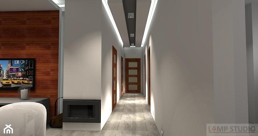 Oświetlenie - Hol / przedpokój, styl nowoczesny - zdjęcie od EBBE Design Projektowanie Wnętrz