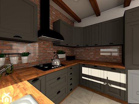 Aranżacje wnętrz - Kuchnia: Mieszkanie 55m2 - Kuchnia, styl włoski - EBBE Design Projektowanie Wnętrz. Przeglądaj, dodawaj i zapisuj najlepsze zdjęcia, pomysły i inspiracje designerskie. W bazie mamy już prawie milion fotografii!