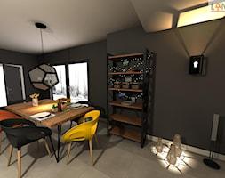 Dom jednorodzinny - Jadalnia, styl skandynawski - zdjęcie od EBBE Design Projektowanie Wnętrz - Homebook