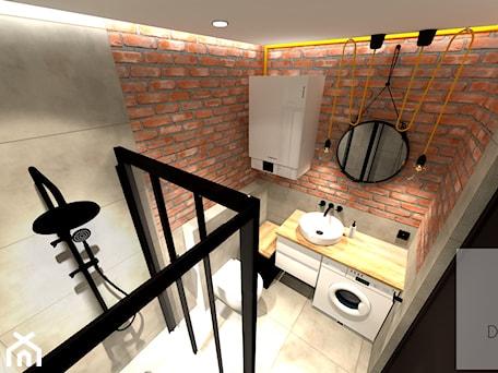 Aranżacje wnętrz - Łazienka: Mieszkanie 55m2 - Łazienka, styl vintage - EBBE Design Projektowanie Wnętrz. Przeglądaj, dodawaj i zapisuj najlepsze zdjęcia, pomysły i inspiracje designerskie. W bazie mamy już prawie milion fotografii!