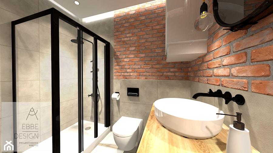 Mieszkanie 55m2 - Łazienka, styl vintage - zdjęcie od EBBE Design Projektowanie Wnętrz